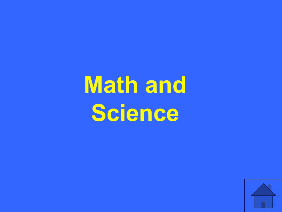 Math and Science