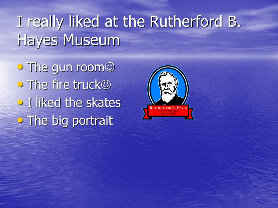 I really liked at the Rutherford B.