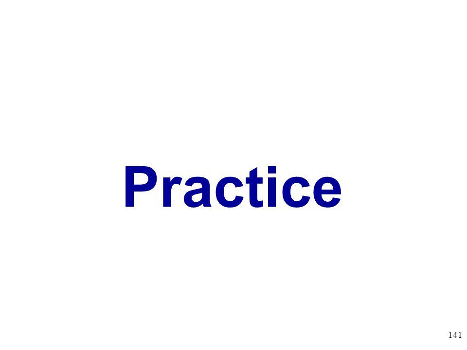 Practice 141