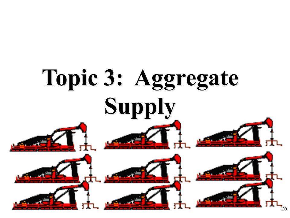Topic 3: Aggregate Supply 26