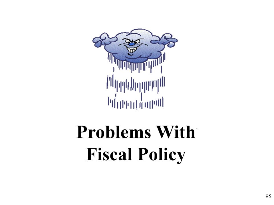 Problems With Fiscal Policy 95
