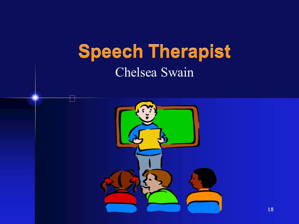 18 Speech Therapist Chelsea Swain