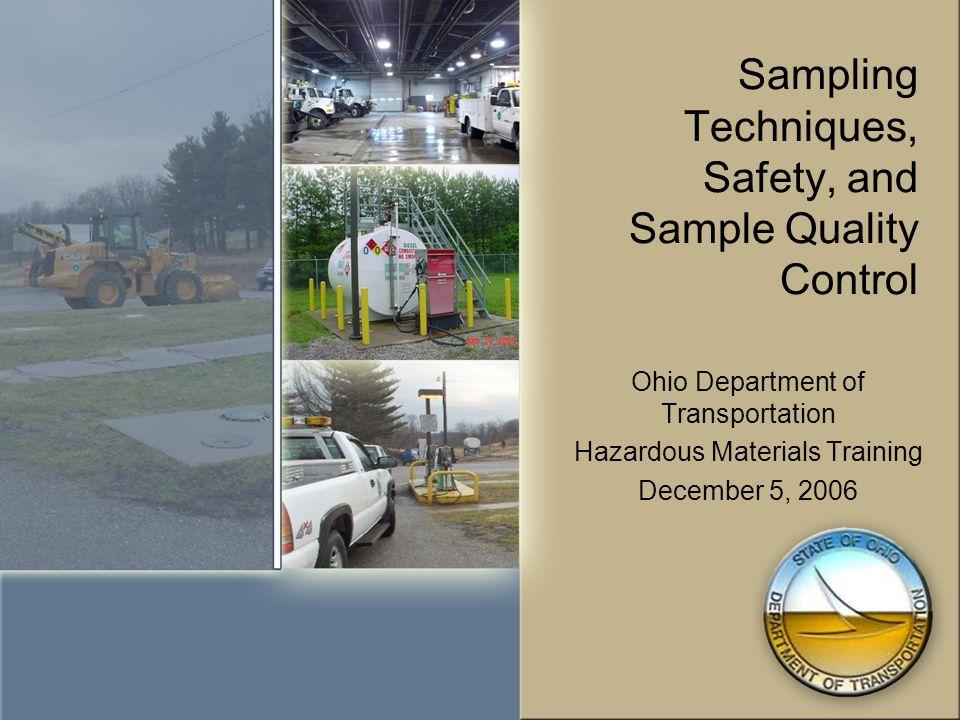 Collecting a Representative Sample - Sampling Methodologies (con't) D.