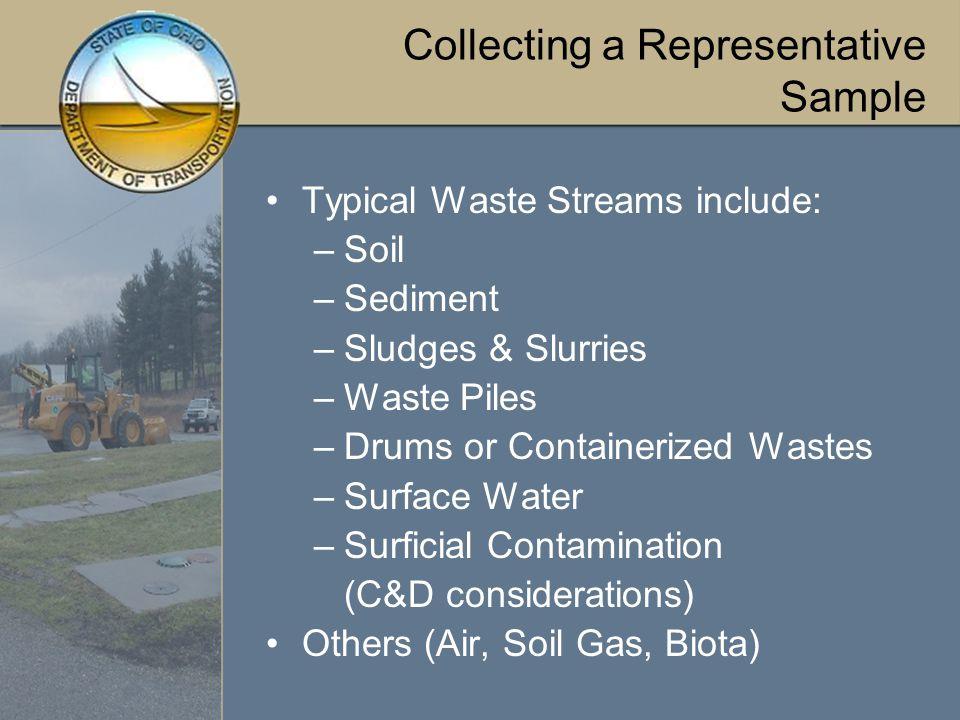Waste Streams Common To ODOT Facilities