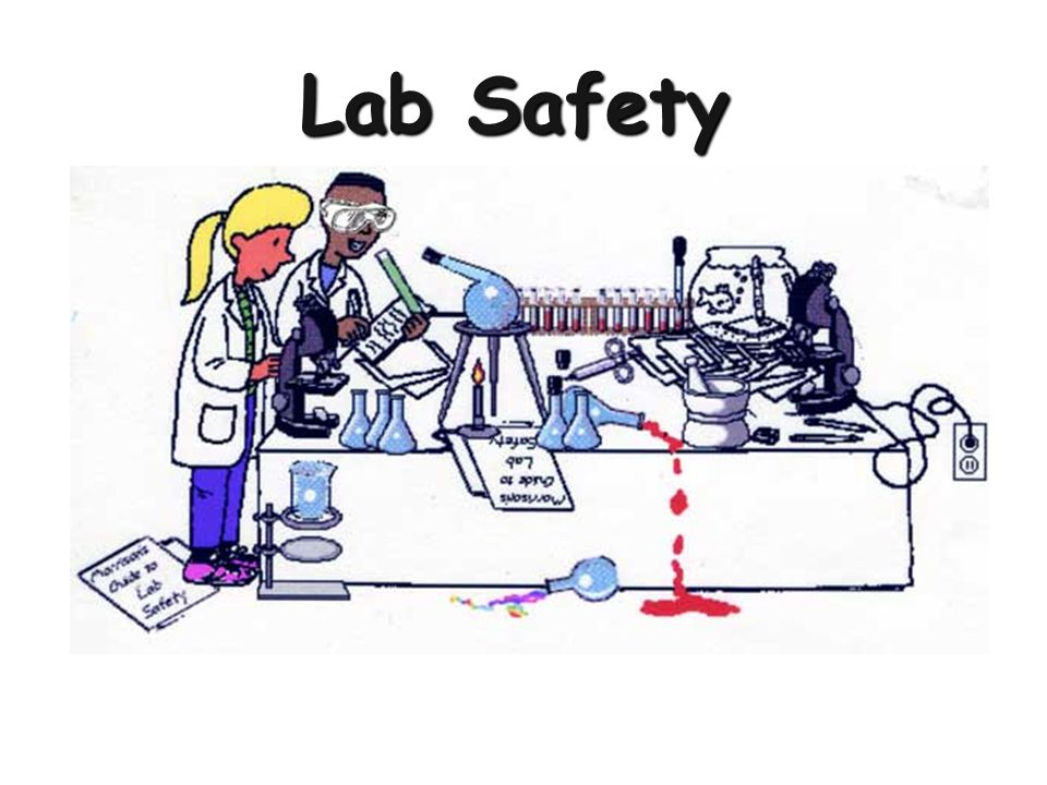 Always Wear Safety Goggles/Glasses in the Lab!!.