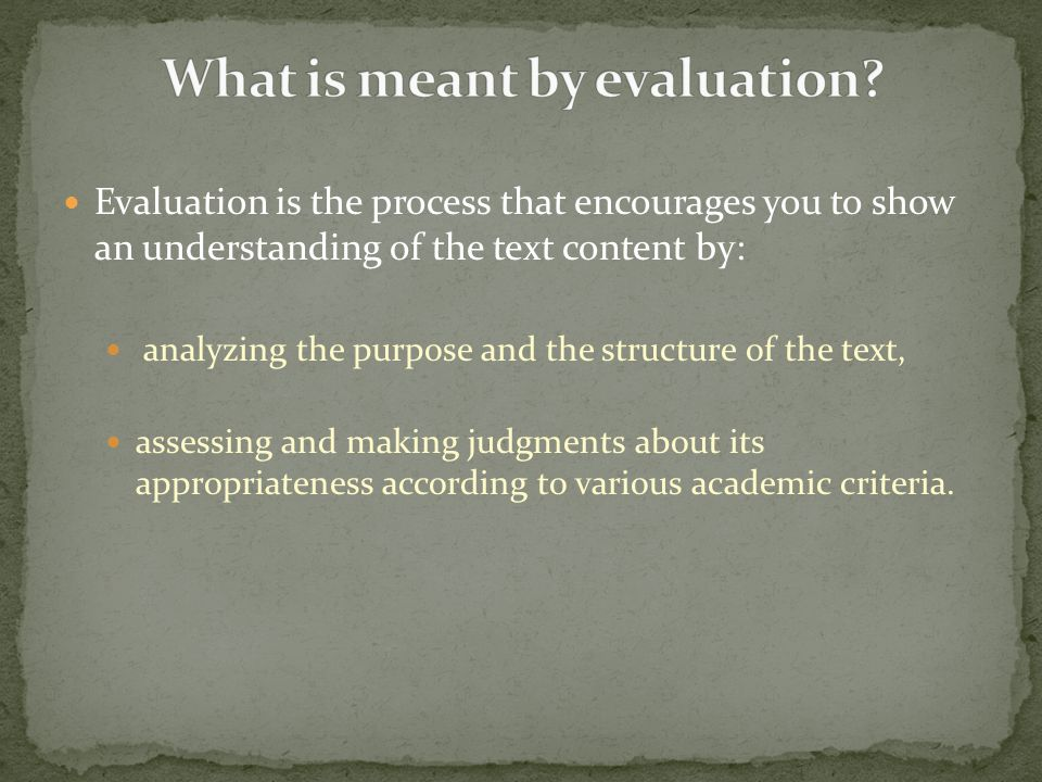 To approach a topic analytically is to examine carefully the content, issues and structure, by separating them into component parts and explaining how they interrelate.