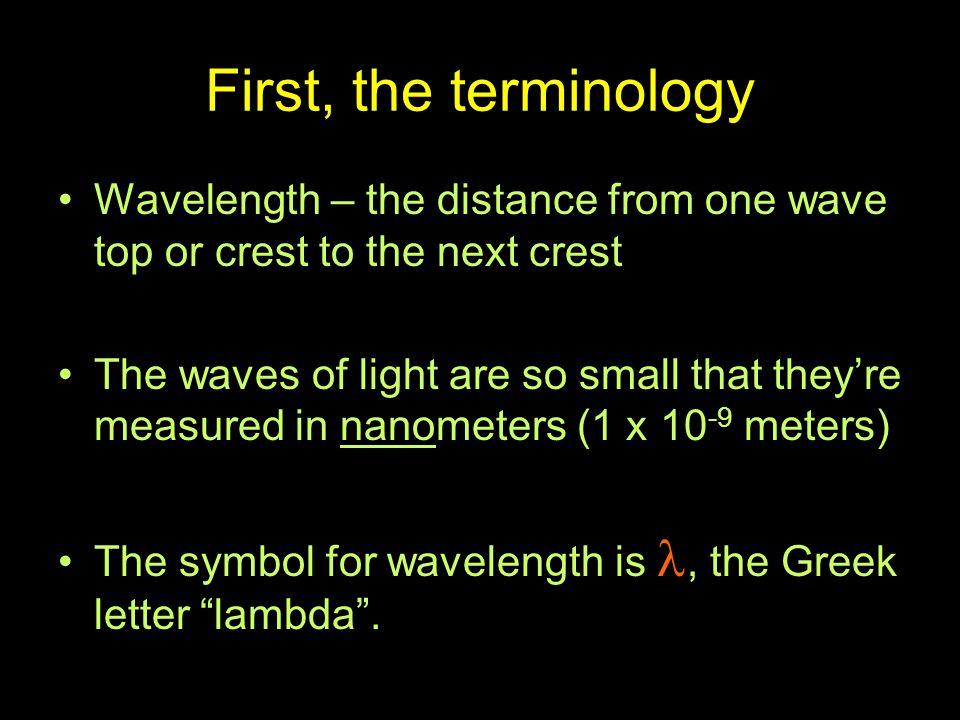wave crest wave trough node