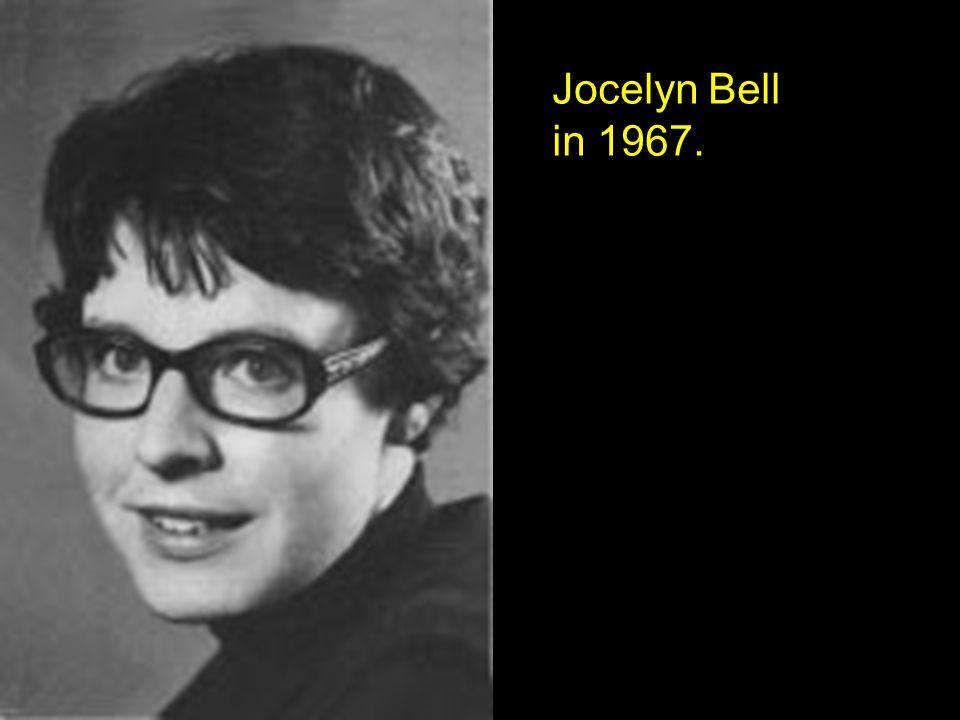 Jocelyn Bell in 1967.