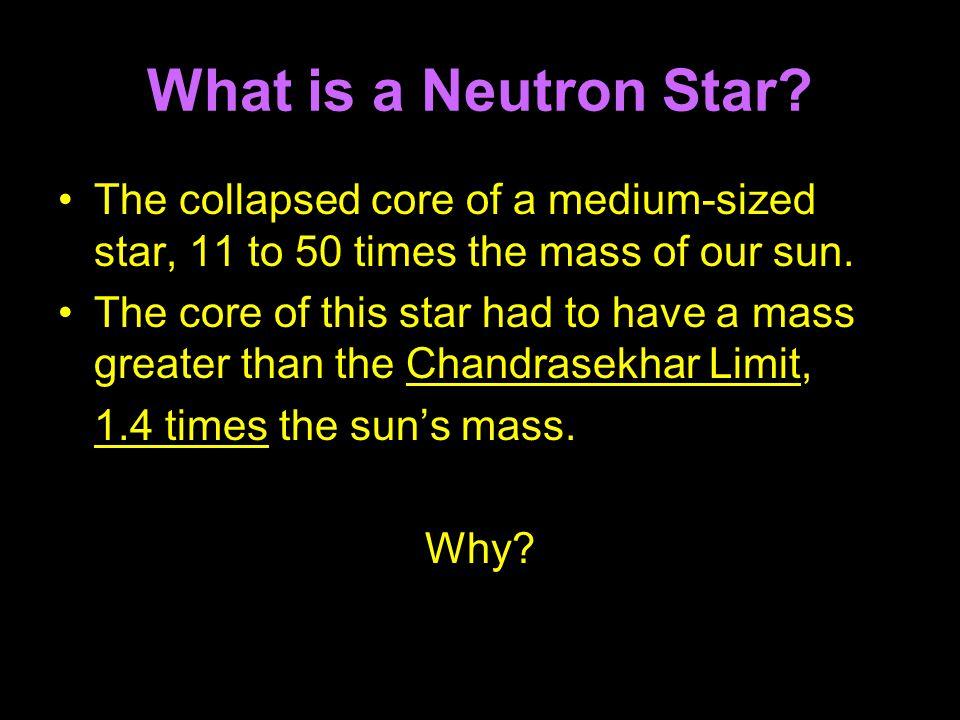 What is a Neutron Star.