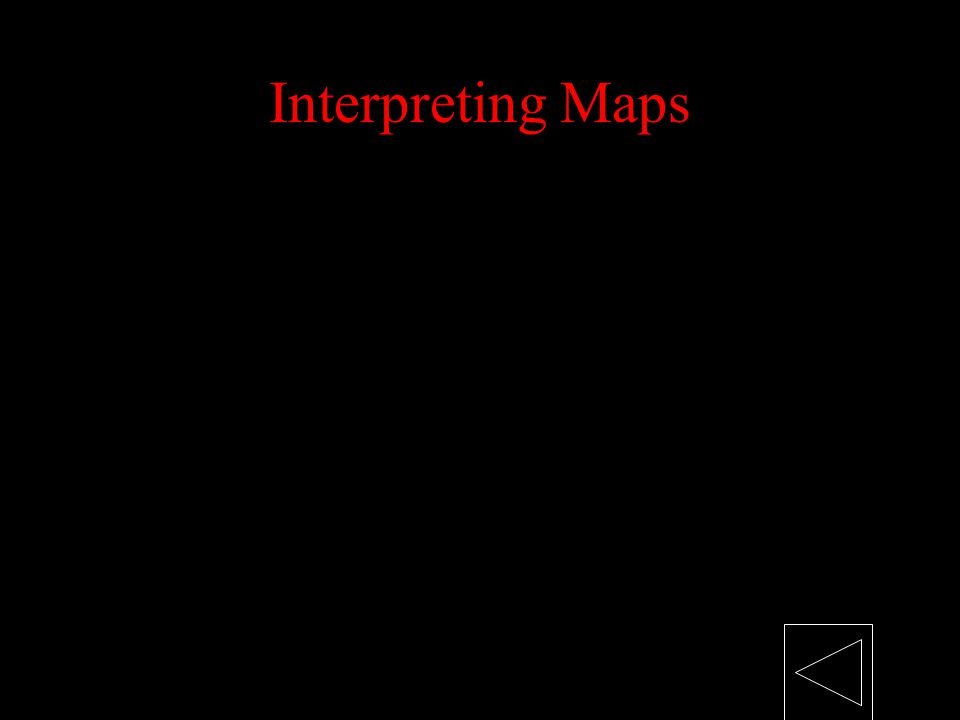 Interpreting Maps