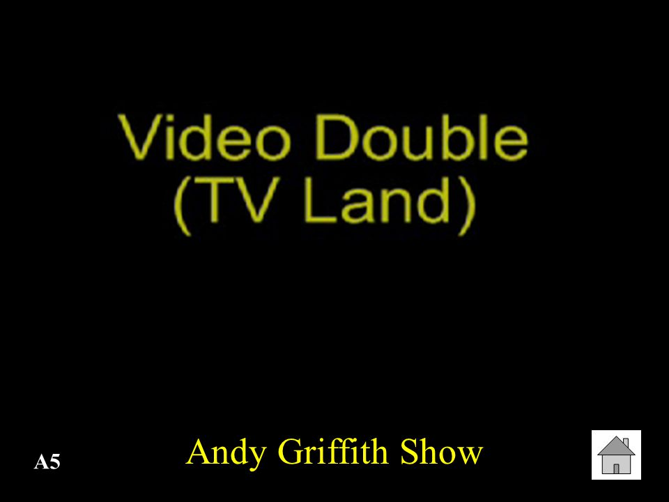 A5 Andy Griffith Show
