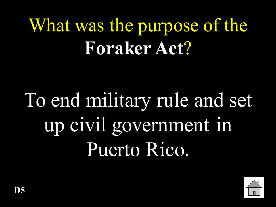 D4 After the Spanish-American War, why were Cuban leaders like Jose Marti upset with the United States? The United States used the same style of rule