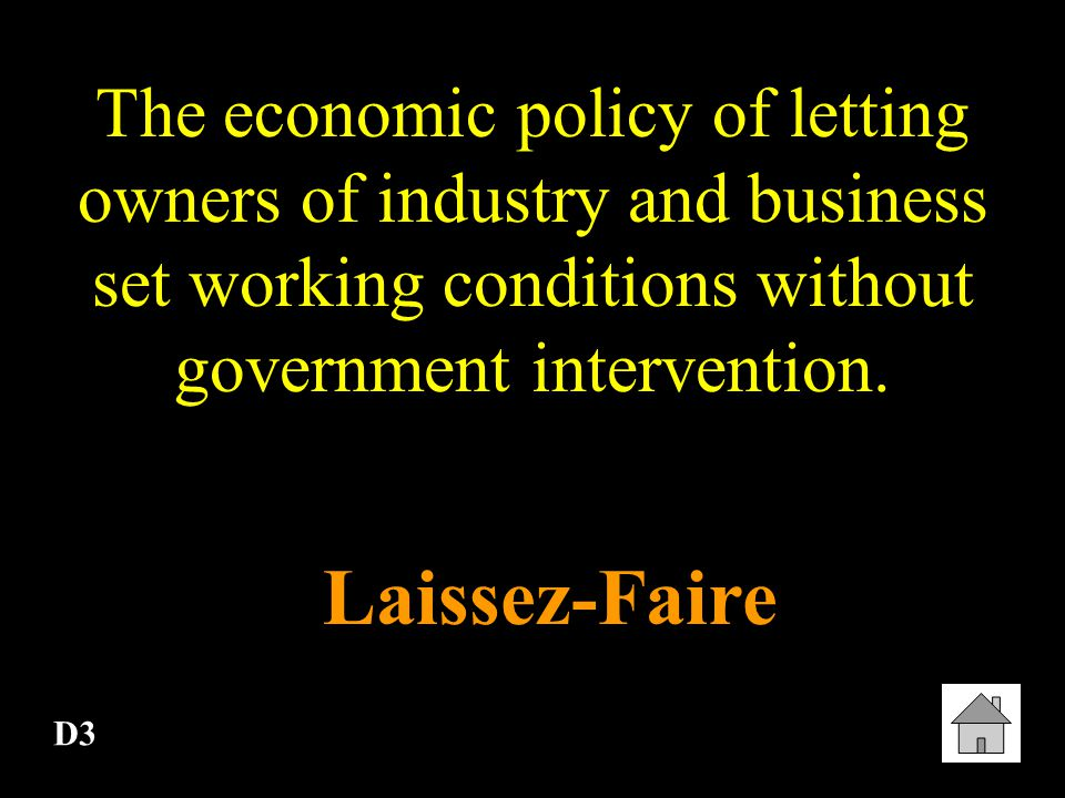 D2 An economic system in which the people own all means of production, private property does not exist, and all goods and services are shared equally.