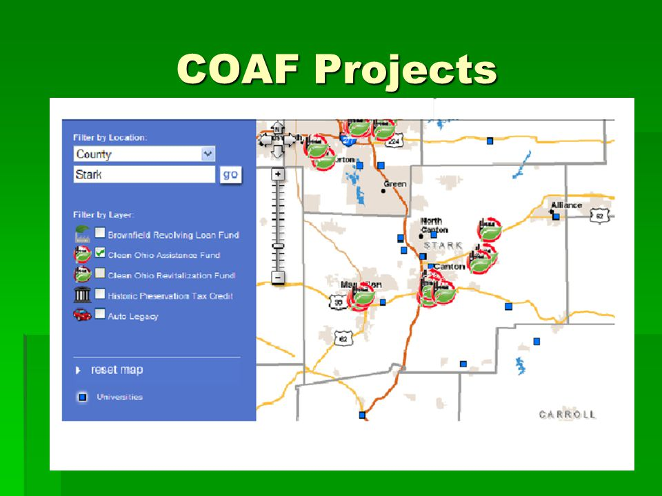 COAF Projects