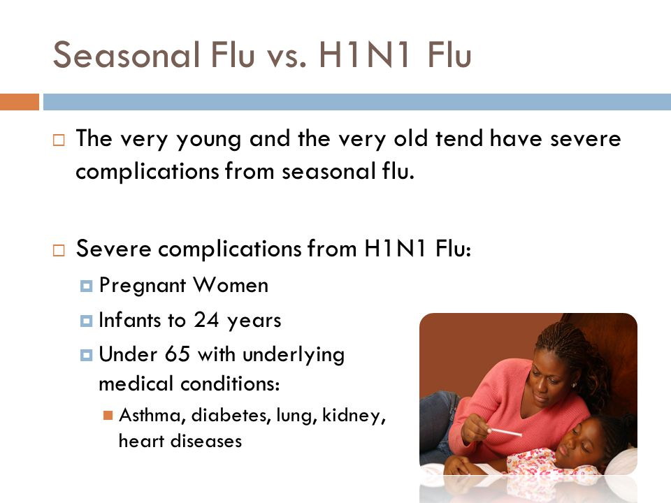 Seasonal Flu vs.