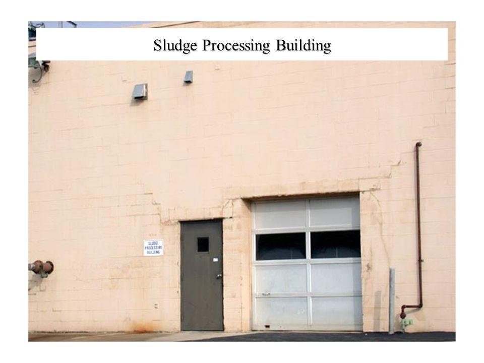 Sludge Processing Building
