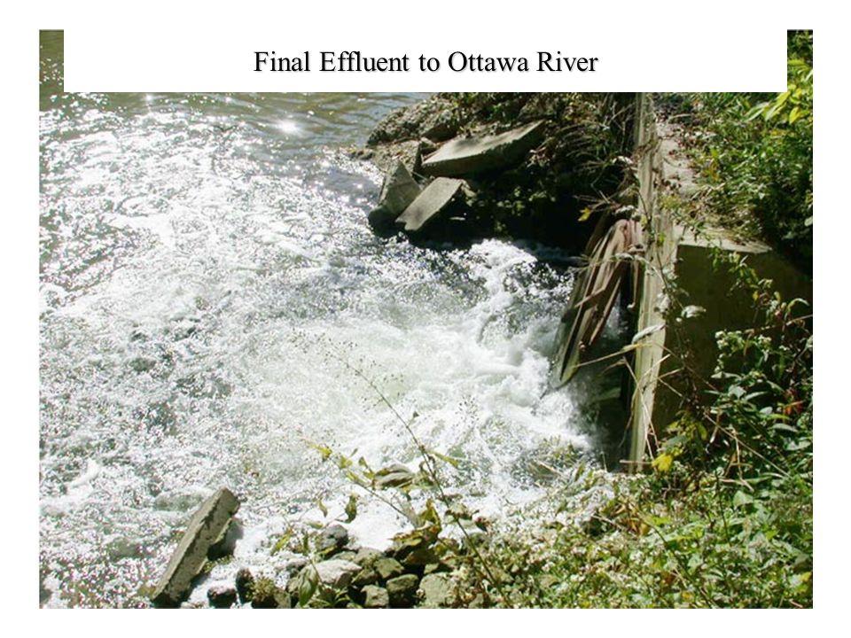 Final Effluent to Ottawa River