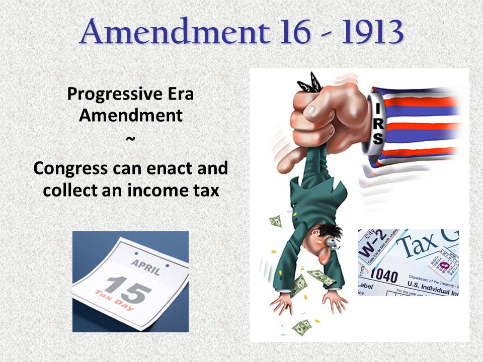Progressive Era Amendment ~ Two senators from each state are now directly elected by the people Amendment 17 - 1913