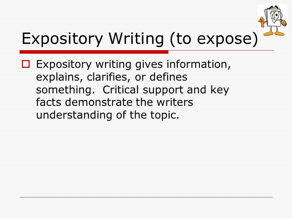 good expository essays An expository essay may have a definite purpose of writing: this is an essay that may describe a writing an expository essay should not be a big dilemma you can actually place an order for a.
