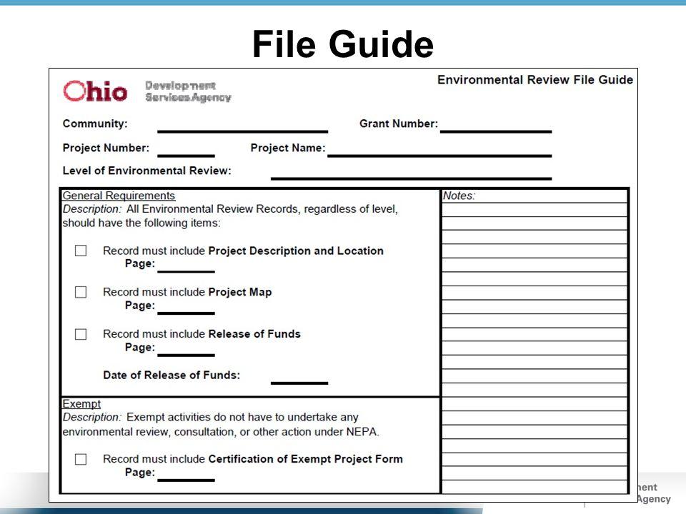 File Guide