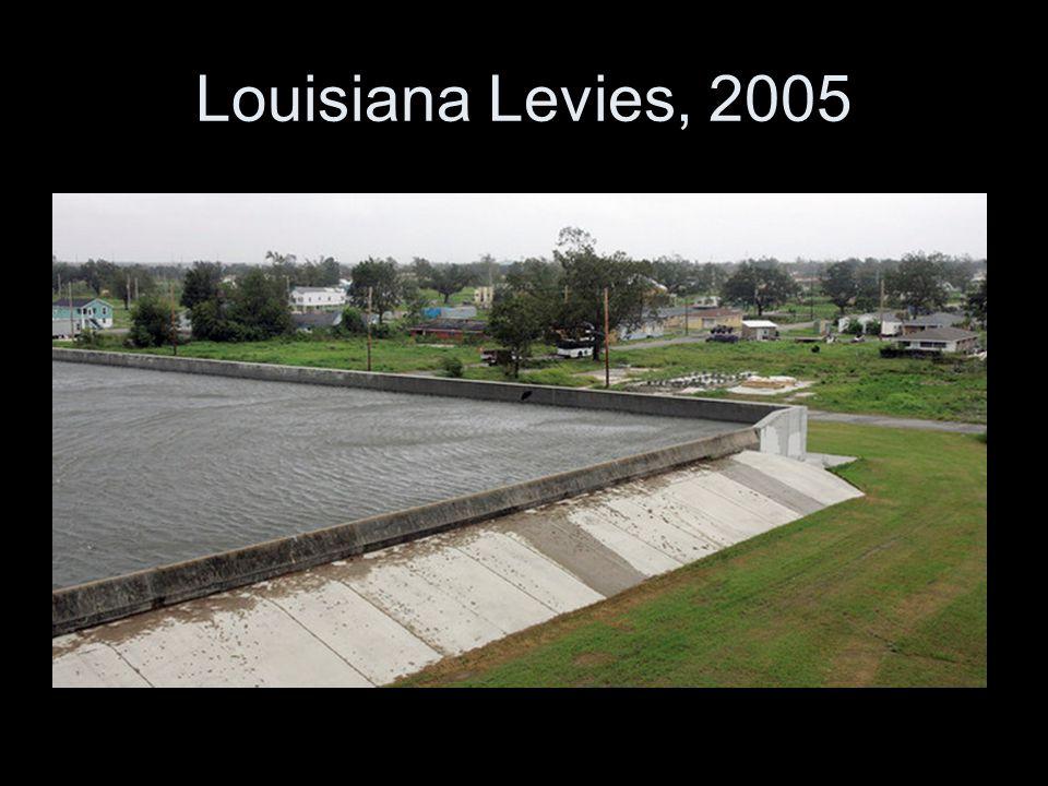 Louisiana Levies, 2005