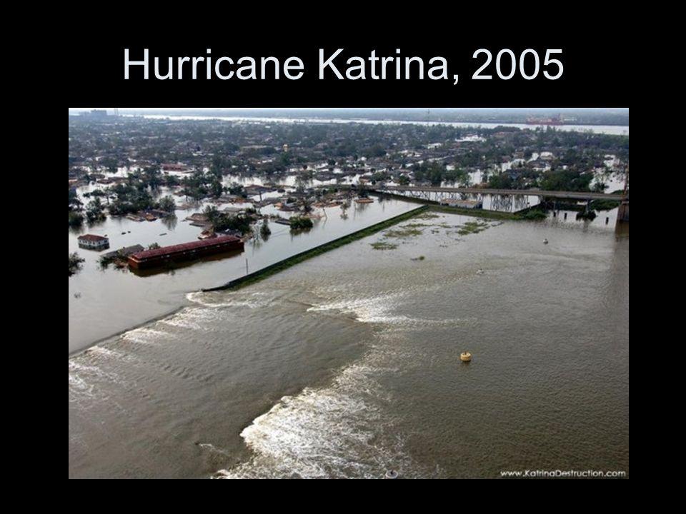 Hurricane Katrina, 2005