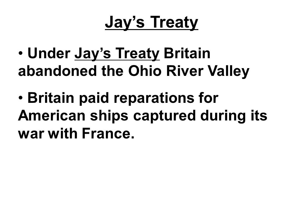 Pinckney's Treaty Pinckney's Treaty with Spain opened up the port of New Orleans and travel along the Mississippi River to Americans.
