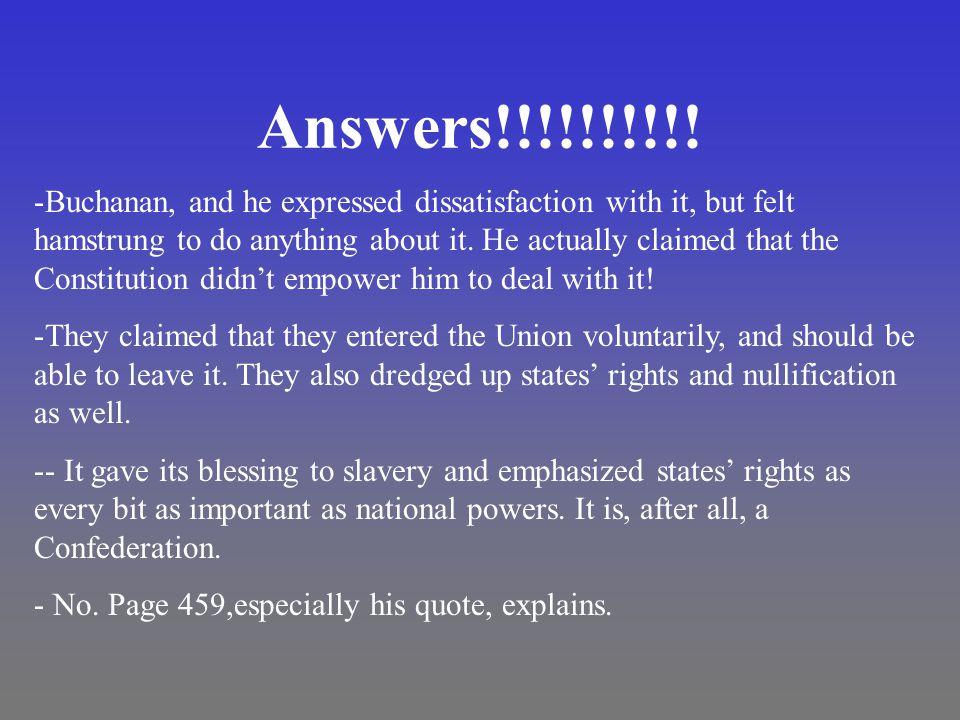 Answers!!!!!!!!!.