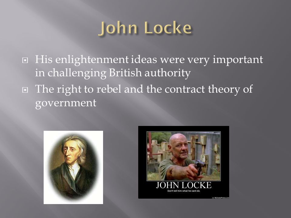  A great American thinker of The Enlightenment