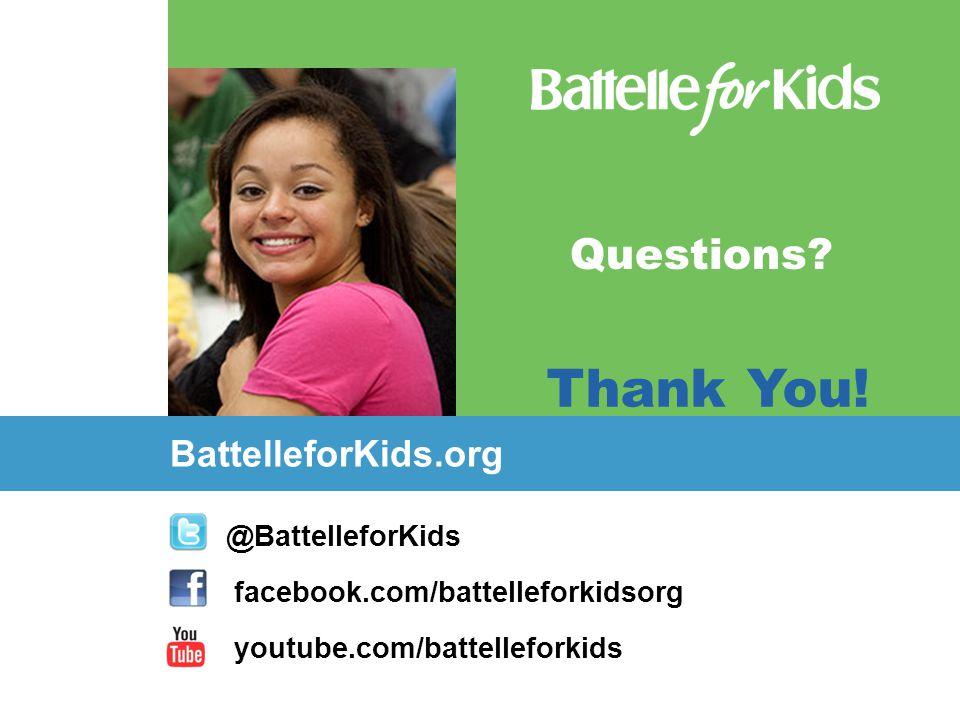 @BattelleforKids facebook.com/battelleforkidsorg youtube.com/battelleforkids BattelleforKids.org Questions? Thank You!