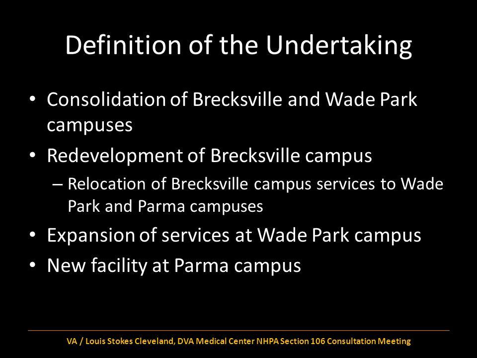 Definition of the APE Brecksville Campus