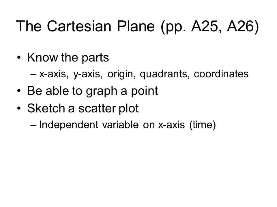 The Cartesian Plane (pp.