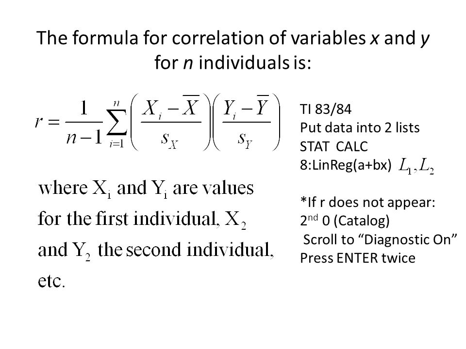 3. Like the mean and standard deviation, the correlation is NOT resistant to outliers.