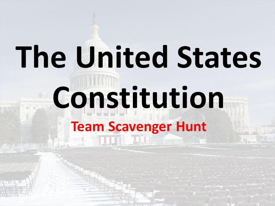 Round 1: Article I The Legislative Branch 1.) …three requirements for members of the House of Representatives.