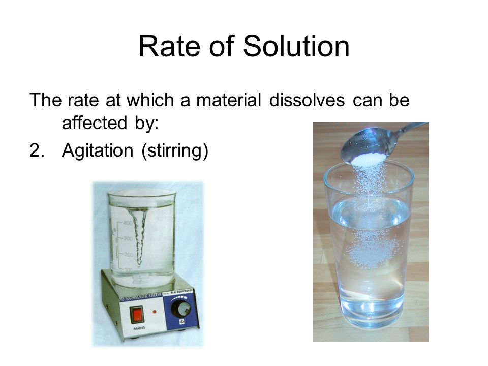 Unsaturated Solutions Contains less than the maximum amount of solute.