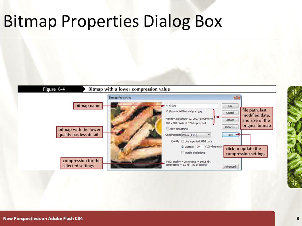 XP Bitmap Properties Dialog Box New Perspectives on Adobe Flash CS48