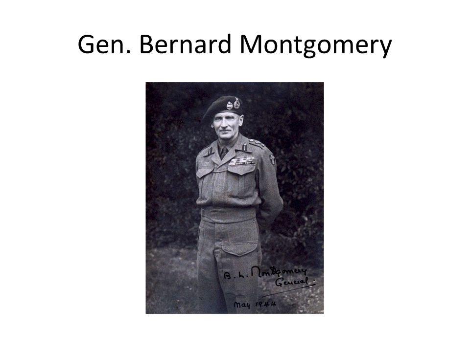 Gen. Bernard Montgomery