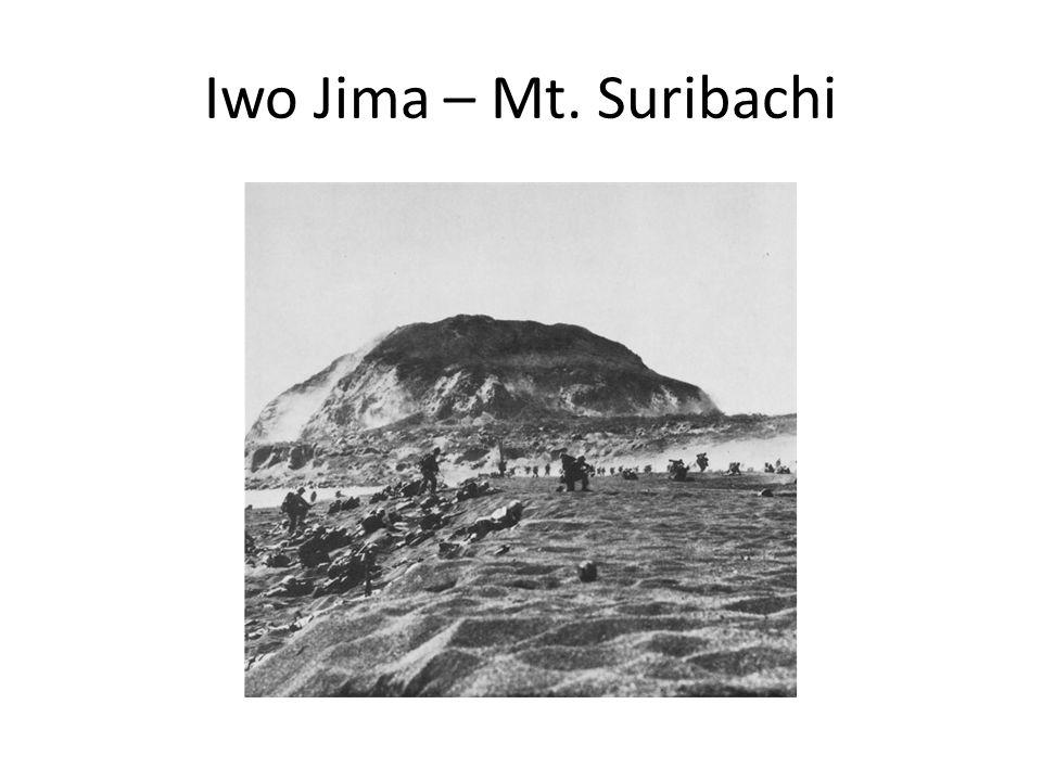 Iwo Jima – Mt. Suribachi
