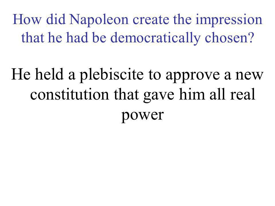 How did that conflict turn out? Napoleon defeated their forces and compelled them to sign peace treaties with France