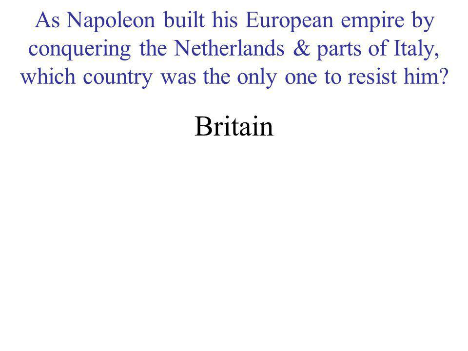 Why did Napoleon decide to sell the Louisiana Purchase to the USA? He needed the $15 million to pay his war debts and he believed the USA would pose a