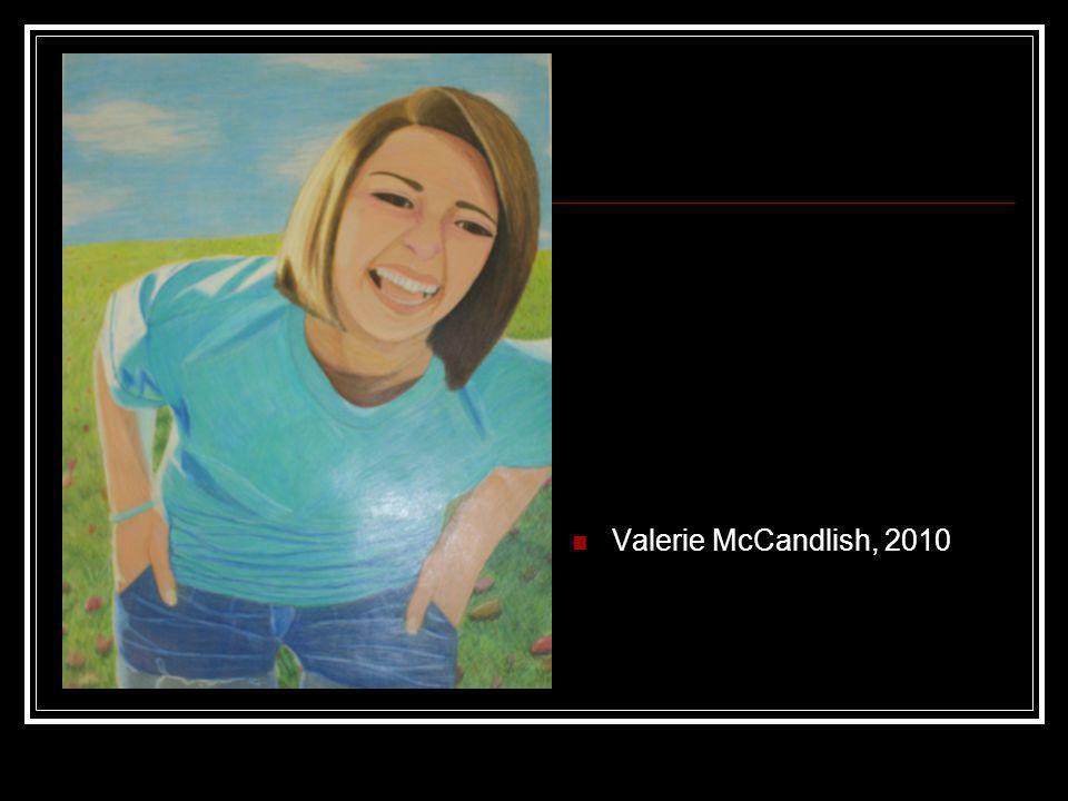 Valerie McCandlish, 2010