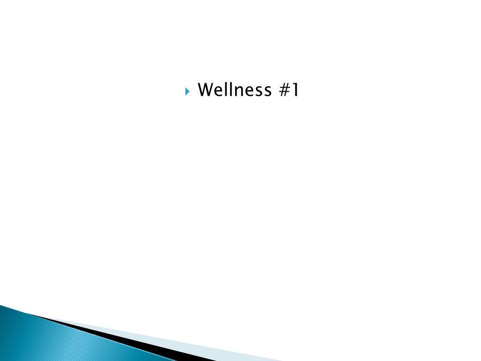  Wellness #1