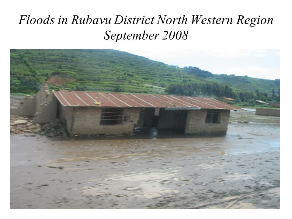 Floods in Southern Province: Picture taken on 31 st January 2007