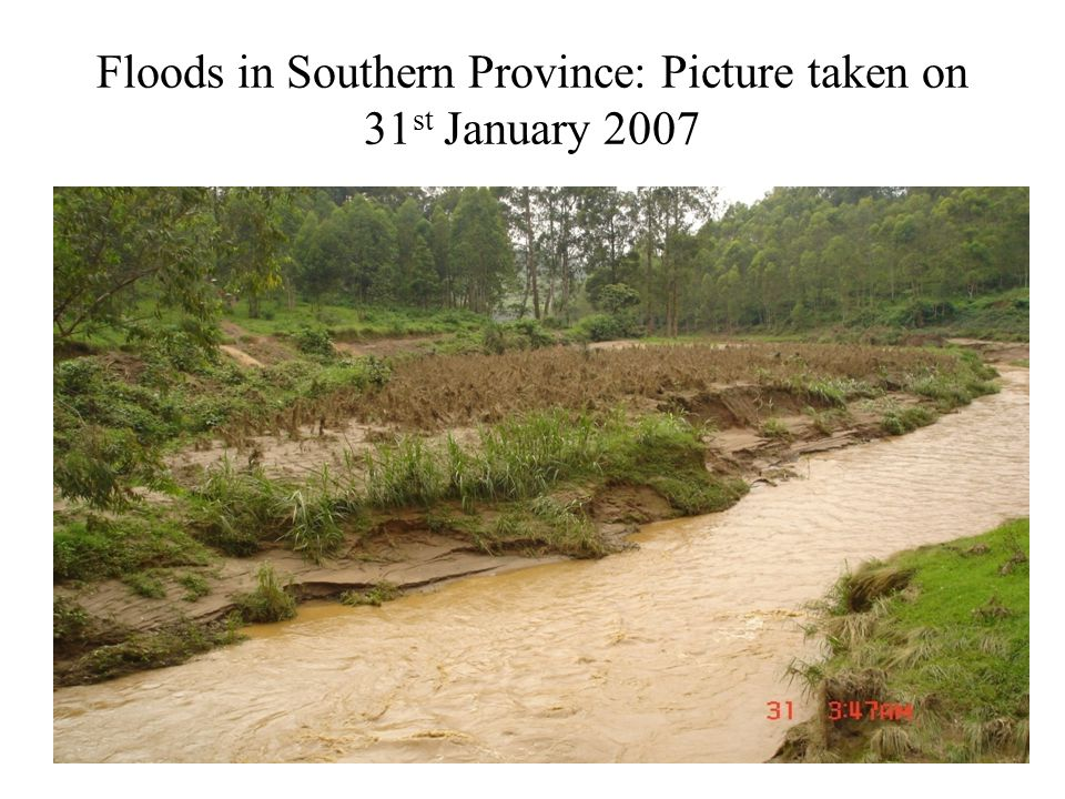 Exemple of Rain Water in the South Eastern Region, SEPT. 2006