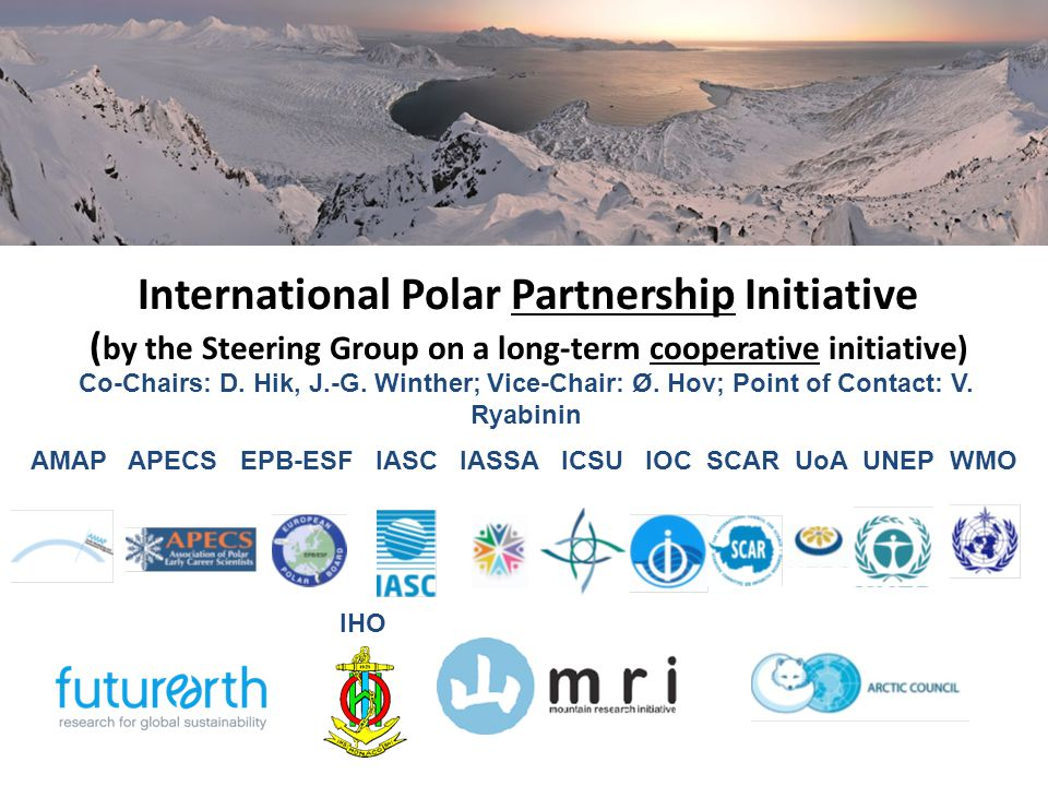 12 An example of why IPPI may be so useful and important for WMO Strong need for climate predictions in the Arctic and NH mid-latitudes Emerging understanding that there is some seasonal predictability of NAO/AO and the decadal predictability of global temperatures (dependence on the North Atlantic and Arctic Oceans, stratosphere, GHG, ENSO,…).