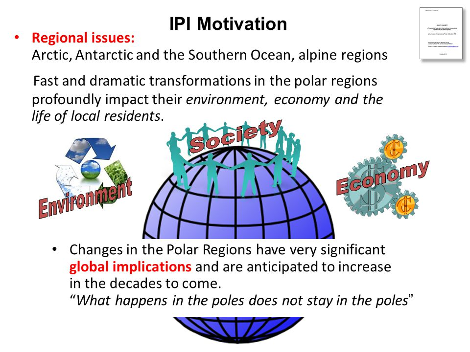 Are key polar problems adequately addressed.