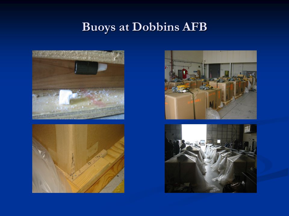 Buoys at Dobbins AFB