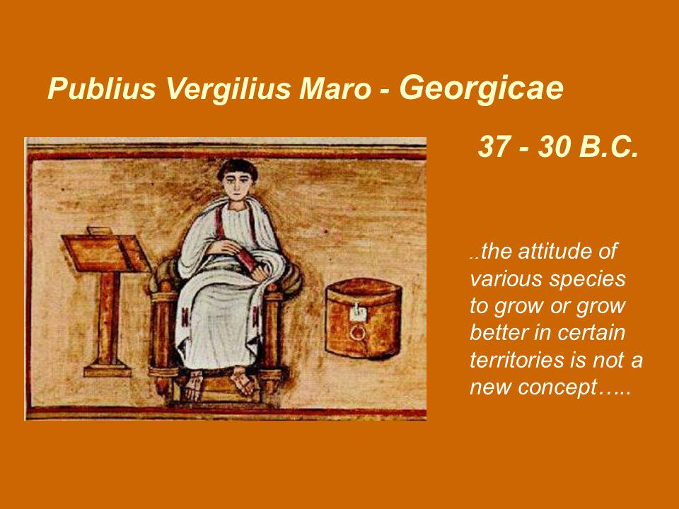 37 - 30 B.C. Publius Vergilius Maro - Georgicae..