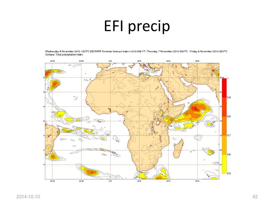 EFI precip 2014-10-1042