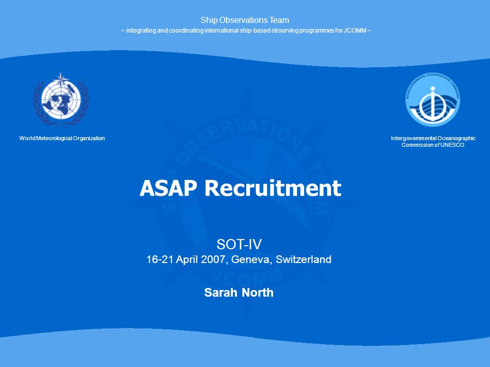 Recruitment of a merchant ship to host a new ASAP unit requires significant financial and human resources.